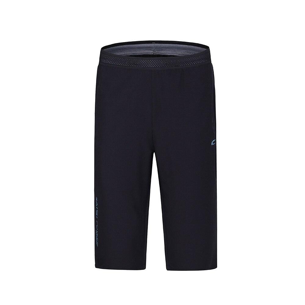SAIQI hombres deporte poliéster pantalones Bodybuilding Fitness corto  correr gimnasios hombres Shorts en Pantalones Cortos para correr de Deportes  y ocio en ... 67ec278ab9774