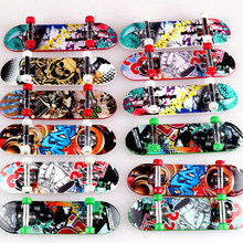 5pcs/lot Finger Skateboard Deck Mini Board finger board Tech Boys Games Adult Novelty Items Children Toy(China)