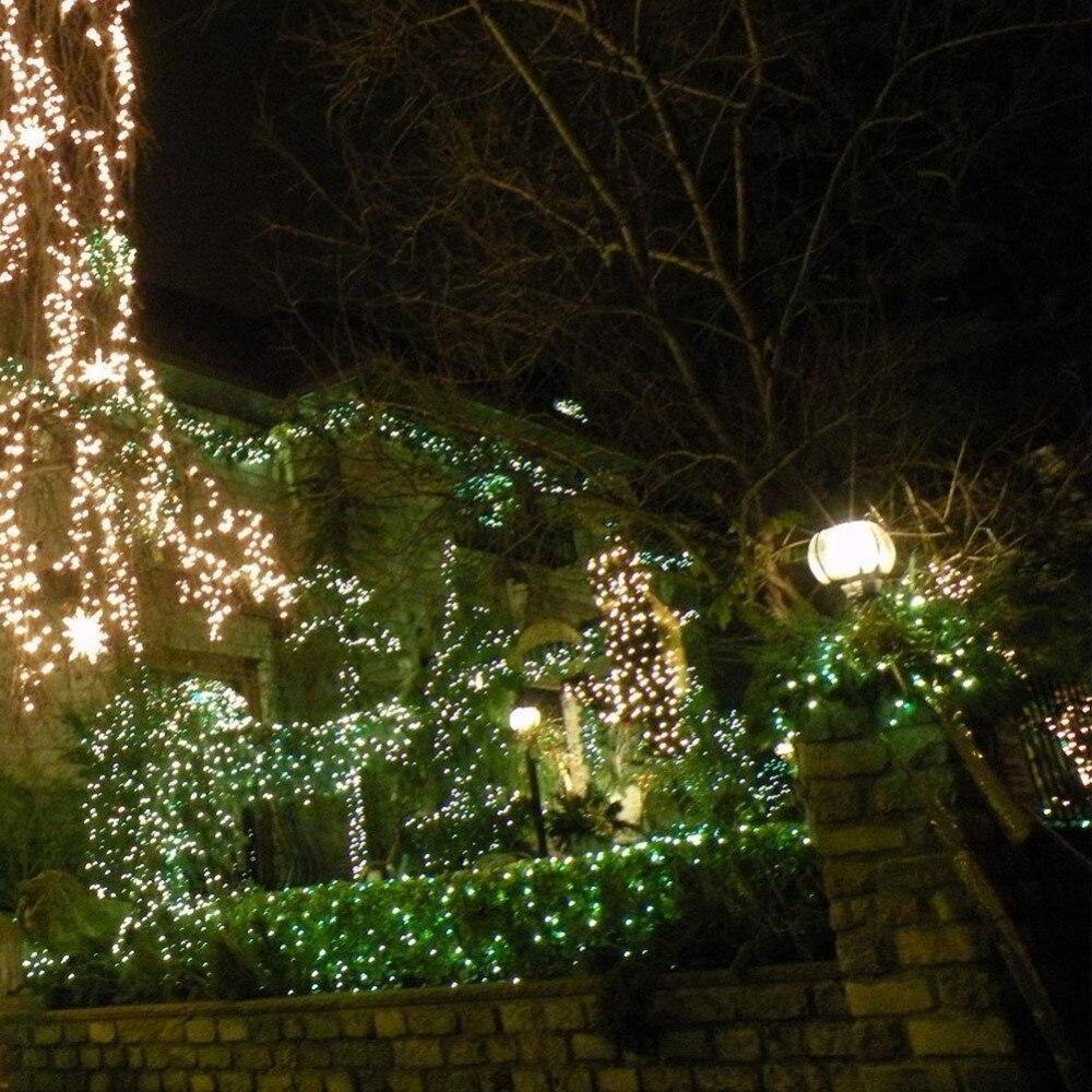 Solar Christmas LED String Lights