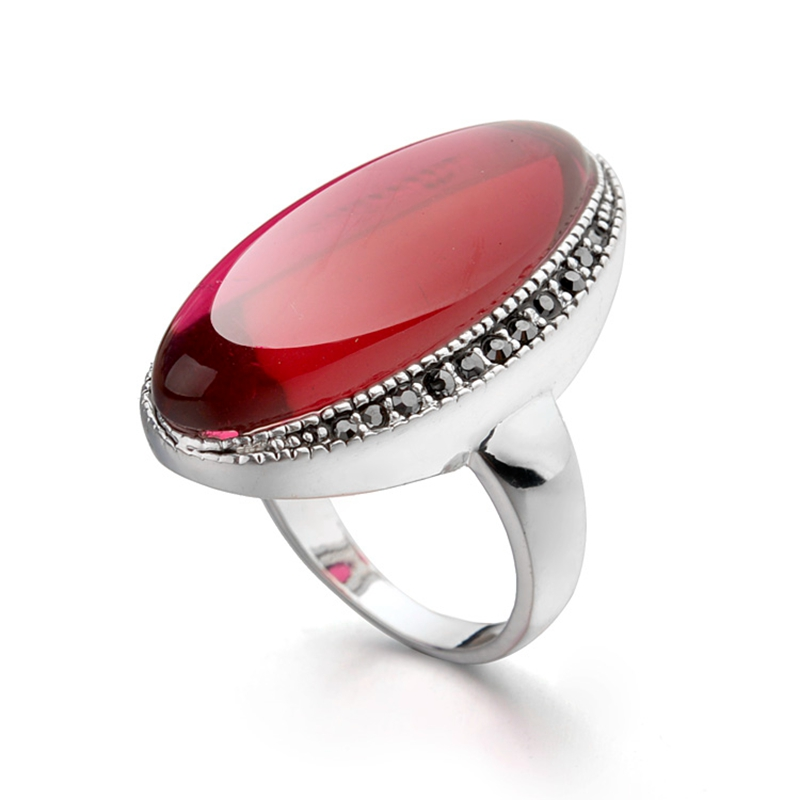 Online buy wholesale semi precious stone rings from china for Precious stone wedding rings