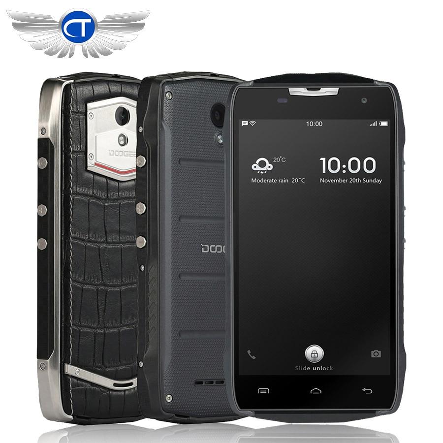 5PCS lot Doogee T5 lite Smartphone 4500mah IP67 Waterproof Shockproof Dustproof 5 0 Android 6 0