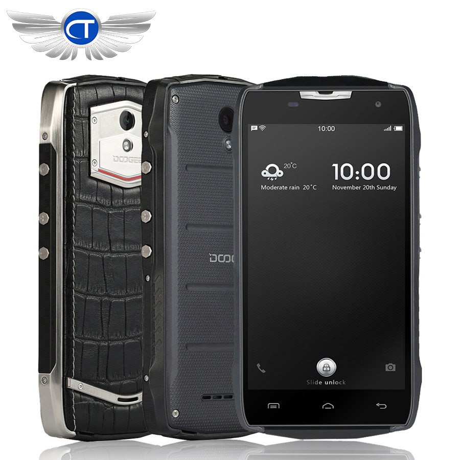 On sale Doogee T5 lite Smartphone 4500mah IP67 Waterproof Shockproof Dustproof 5 0 Android 6 0