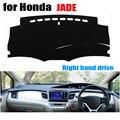 Чехлы для приборной панели автомобиля Honda Jade на весь год правые диски панель приборной панели коврик для приборной панели dashmat аксессуары дл...