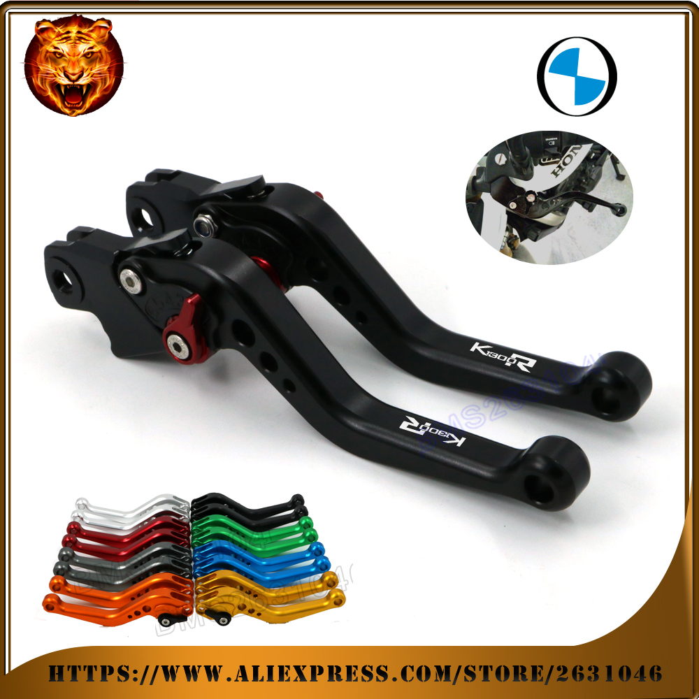 где купить  For BMW K1300S K1300 K1300R K1300GT GRAY RED BLACK GOLD  MOTO MOTOBIKE Motorcycle Adjustable Brake Clutch Levers  дешево