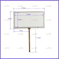 ZhiYuSun Use JVC KW AV50 149 80 NEW 6 Inch 149mm 80mm 4 Wire Universal LCD