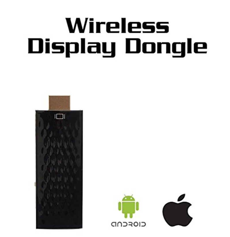 DBPOWER Wireless Wifi HDMI Display Dongle Adapter Mirror Function Airplay TV Dongle Streaming Media Play for iphone Android
