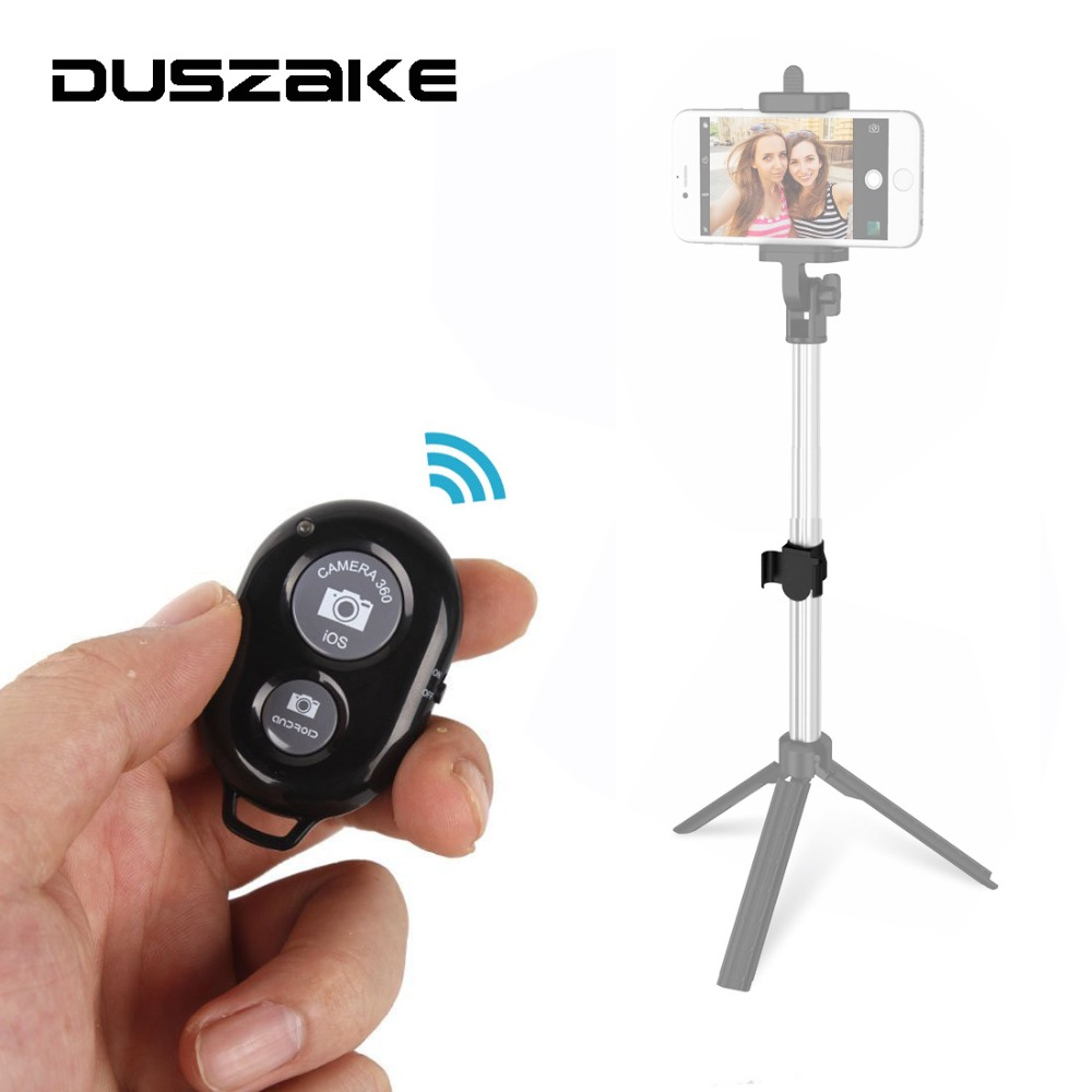 Bluetooth Phone Self Timer Shutter Button For IPhone 7 Selfie Stick Sh