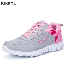 Women Mesh Shoes Breathable hot fashion light mesh Casual Summer shoes woman tenis feminino walking sneakers недорого