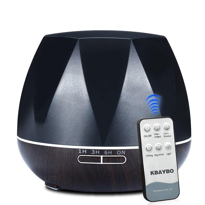 550 ml de Óleo Essencial Umidificador de Ar Ultra-sônica Difusor Umidificador Névoa Fria LED Night Light para Home Office Quarto Sala de estar