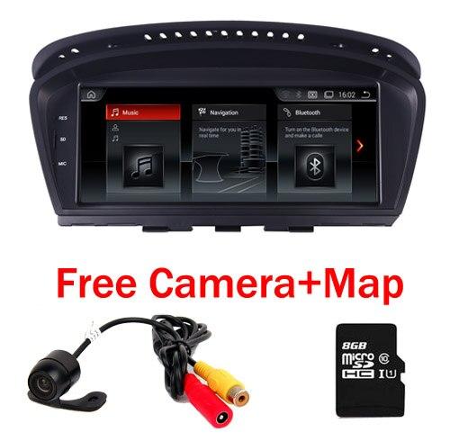 2 ГБ + 32 ГБ 8,8 Android 7,1 dvd плеер автомобиля для серии BMW 5 E60 E61 E62 gps navi Idrive Wi Fi Bluetooth Радио RDS Бесплатная Камера карта