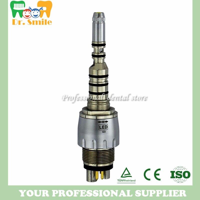 dental 6 hole Kavo optical quick coupling coupler for turbine handpiecedental 6 hole Kavo optical quick coupling coupler for turbine handpiece