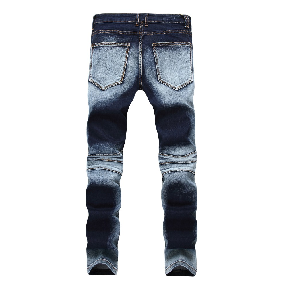 Casual Washed Cotton Fold Skinny