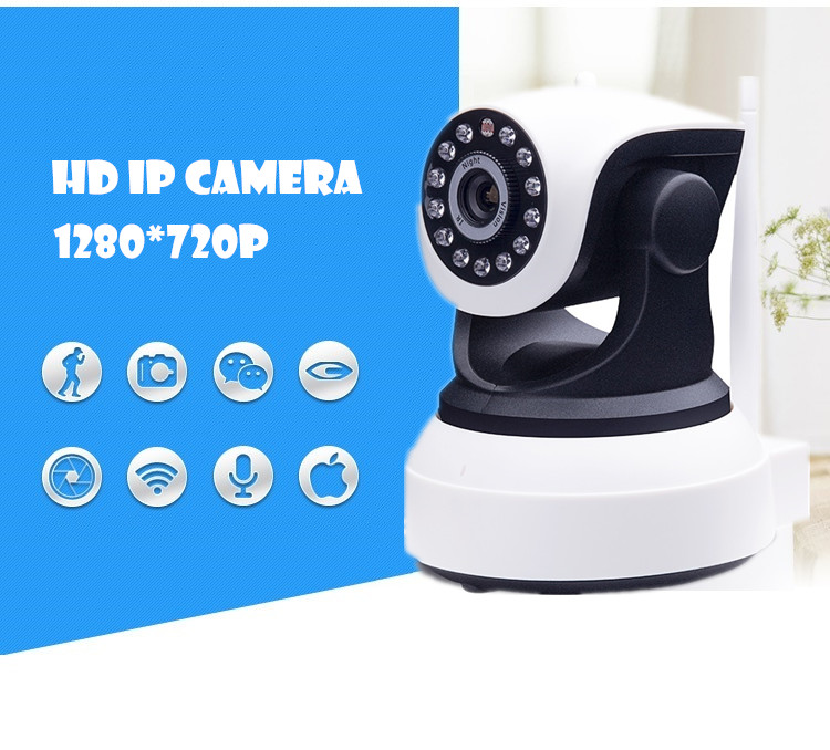 ФОТО CCTV CAMERA surveillance video recorder system Wireless IP Wifi  720P HD  Mega P2P Alarm Onvif Micro SD card audio pt Network