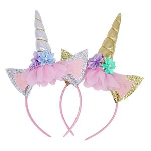 Giraffita 1 Pc Kids Headband Glitter Hairband Diy Hair
