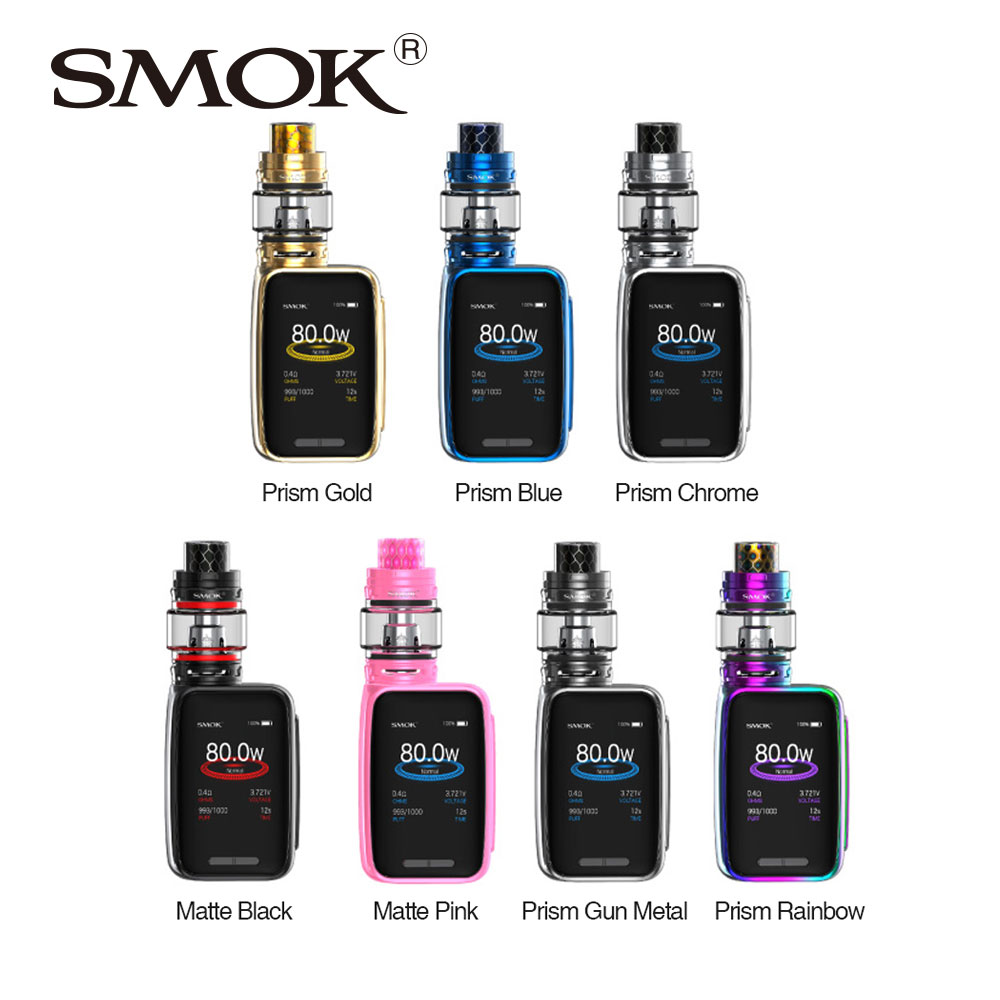 цена на Original SMOK X-Priv Baby 80W TC Kit 4.5ml/ 2ml with TFV12 Big Baby Prince built-in 2300mAh Battery VS G-Priv Baby X Priv Baby
