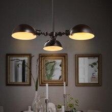 Suspension Luminaire Retro Industrial Lamp Restaurant Bedroom Cafe Chandelier Lighting Nordic Modern Iron Pot Hanglamp Fixture