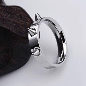Ring-Punk-Style Stainless-Steel Self-Defense Para Jewelry Men's Joyas Thorn And Y-Mujeres