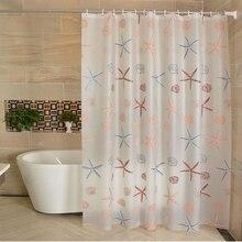 PEVA Bathroom Waterproof Shower Curtain set With Hook