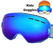 Gafas de esquí Anti-vaho Spherica Motocross Nieve Snowboard Gafas de Esquí Gafas de Esquí Gafas De Esquí UV400 4-16Y