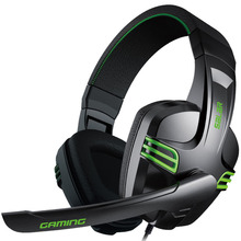 Gaming Headphone Earphones & Headphones Headset With Microphone Gamer Bass Brand Salar 3.5mm KX101