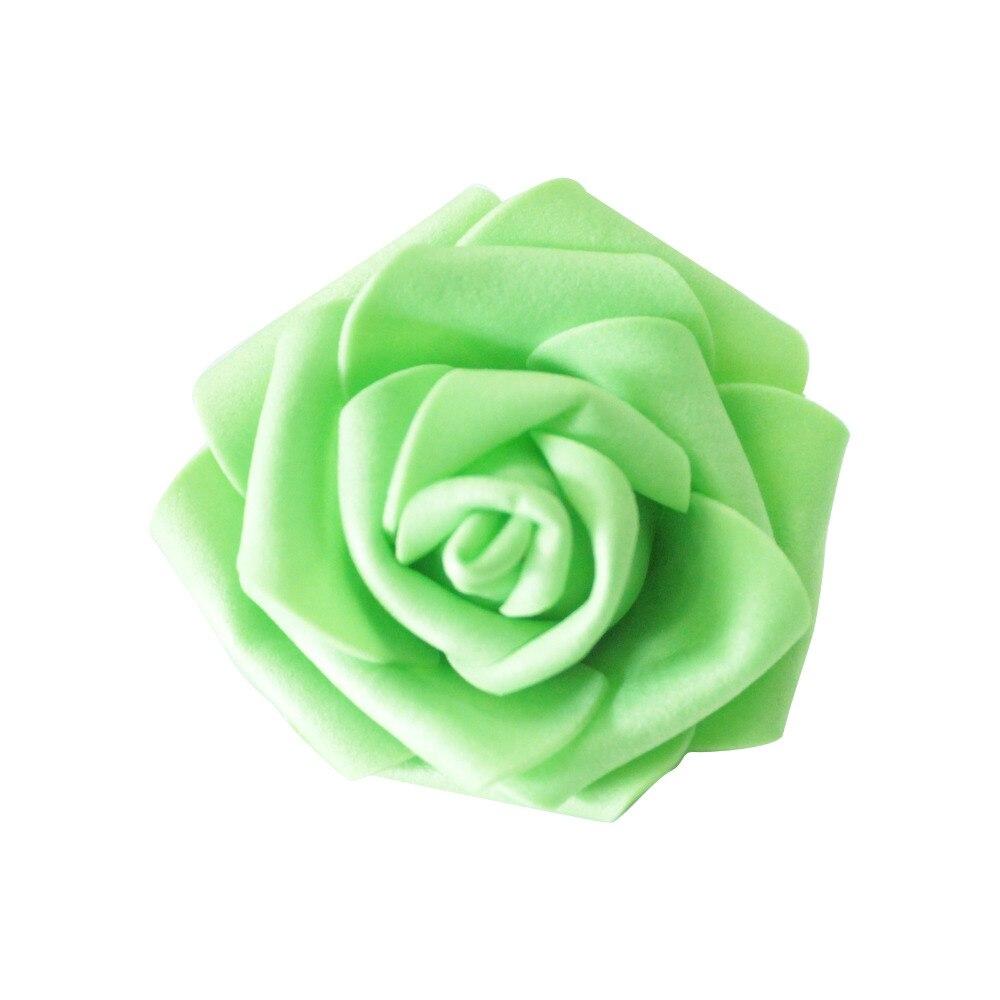 10pcs Pack Table Centerpieces Diameter 6 7 Cm Artificial Foam Roses Flower Heads For Home Party