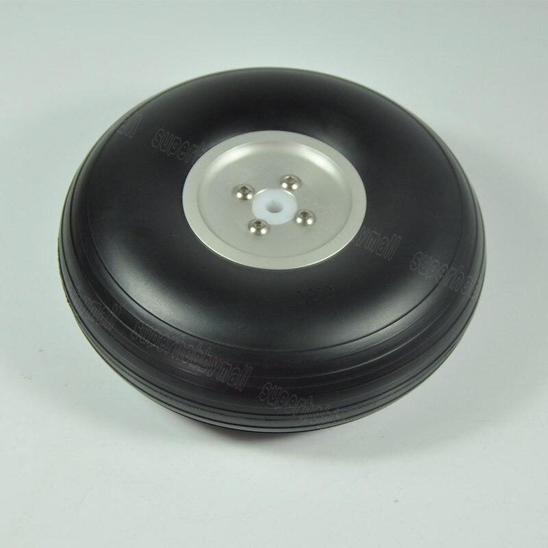 1 paire de roues en polyuréthane 5.5