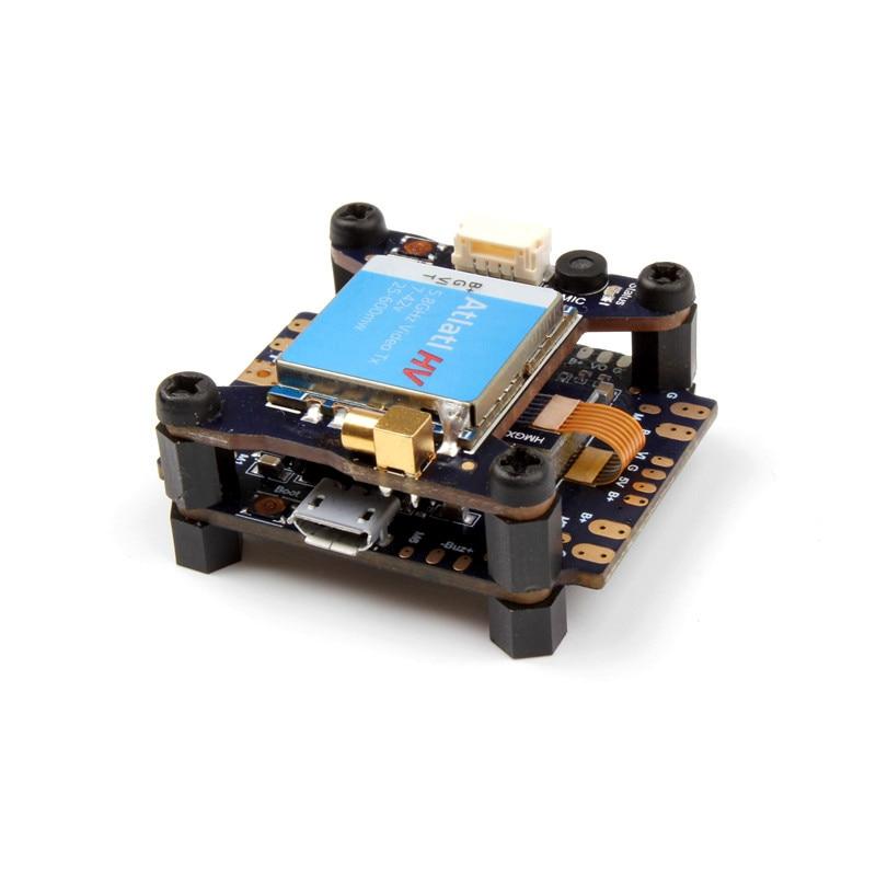 Holybro Kakute F4 AIO Flight Controller PDB OSD+ Atlatl HV 5.8G 40CH Raceband FPV Transmitter TX for RC Racing Drone Quadcopter