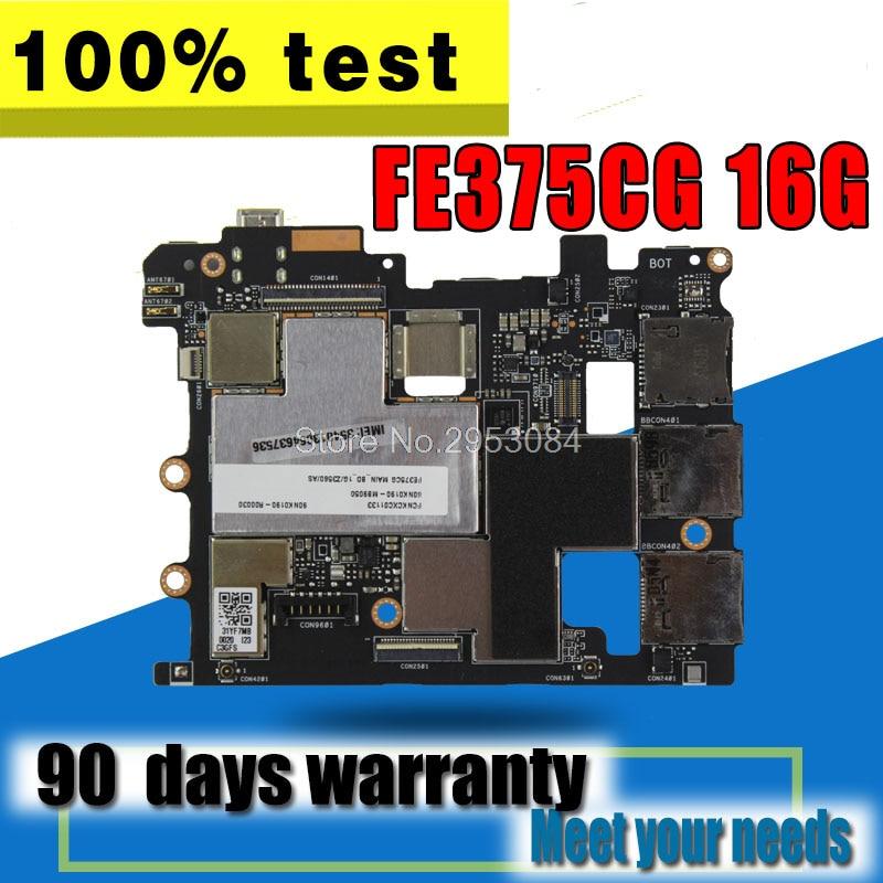 BOARD For Asus Fonepad 7 FE375CG 16GB Tablet PC Original Motherboard Work Well Mainboard Motherboard 100% Test