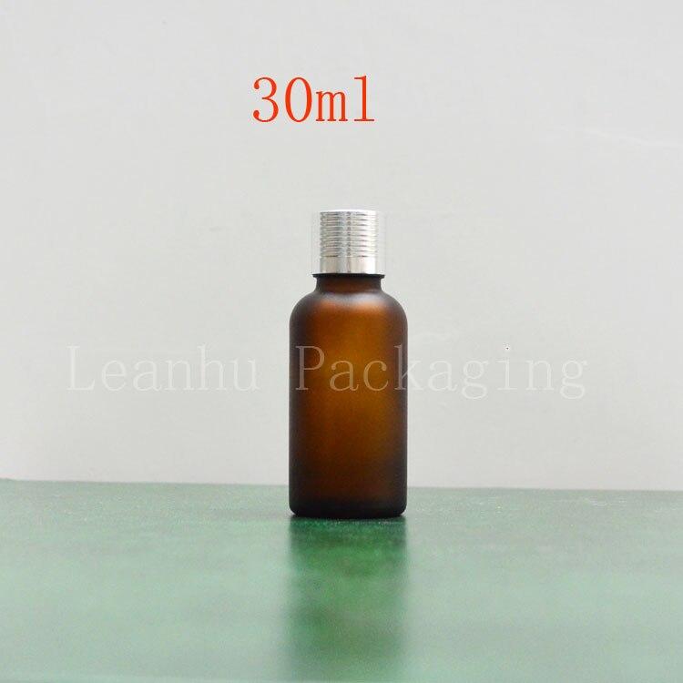 30ml frosted brown oil bottles wholesale bottle with a screw cap bottles capsule bottle points bottling
