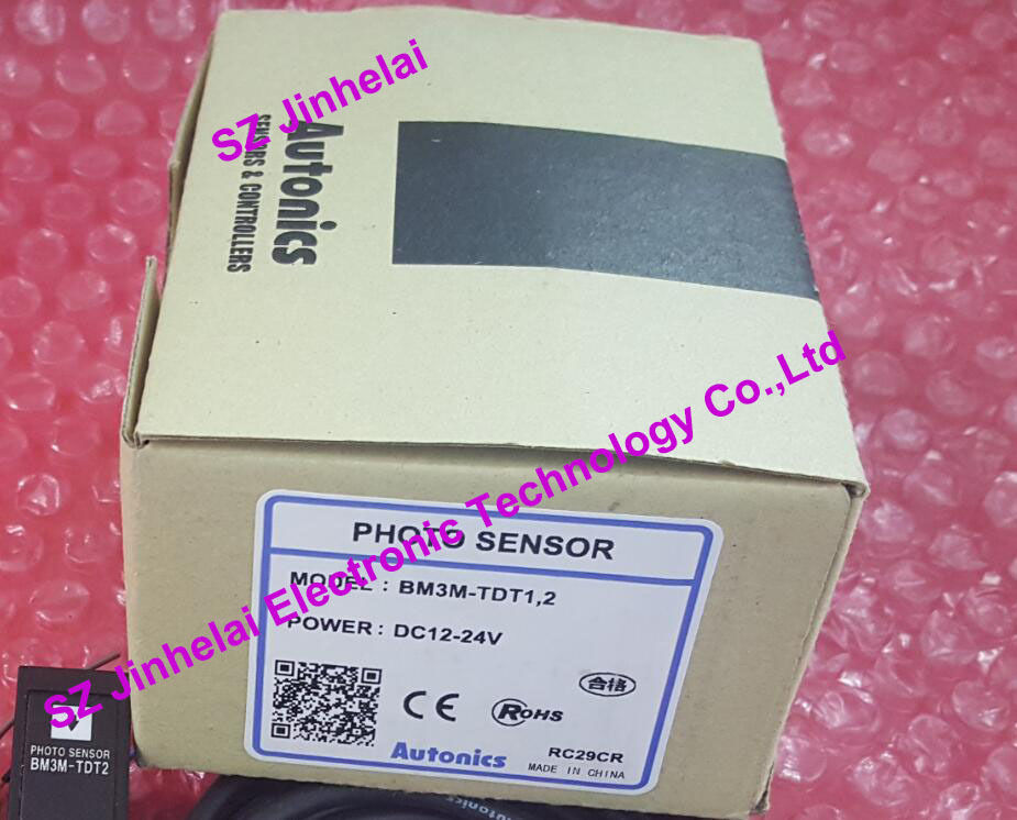 100% New and original BM3M-TDT1,2  AUTONICS  PHOTOELECTRIC SWITCH    12-24VDC 100% new and original bx15m tdt t autonics