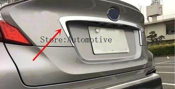 2016 2017 2018 ABS Exterior Pintu Central Cetakan Auto Mobil Belakang Tutup Moulding Trim untuk Toyota C-HR CHR
