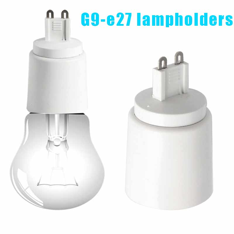 G9 To E27 Socket Base Halogen CFL Light Bulb Lamp Adapter Converter Holder HUG-Deals