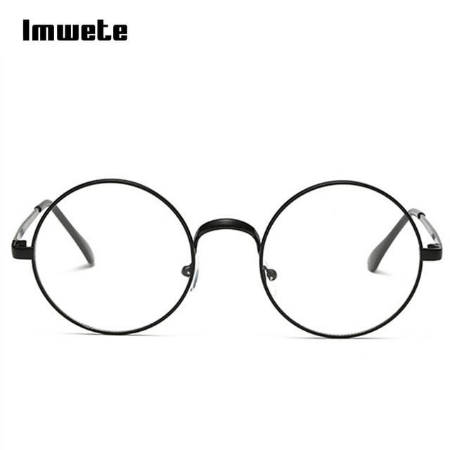 0246644b6a3 Harry Potter Glasses Round Spectacle Glasses Frame Sunglasses Men Women  Vintage Metal Sun Glasses Frames Optical Transparent