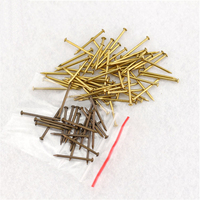 Archaize Round Head Antique Pure Copper Wooden Nails For Furniture DIY Decorative Boxes 250g