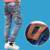 Niños pantalones de mezclilla otoño 2016 Hitz versión Coreana de la ropa de los niños grandes niños jeans vaqueros Delgados pies