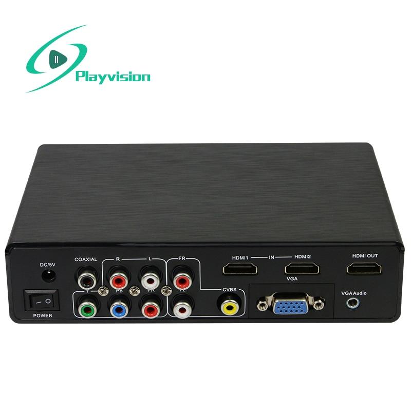 Multi Function 4k Hd Converter All Signals Vga Cvbs Usb
