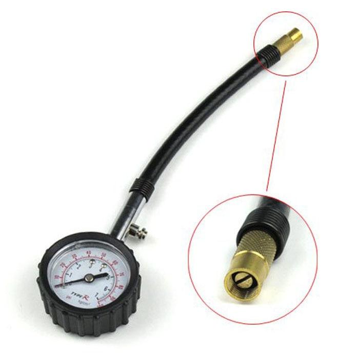 N1683:Automobile tire pressure gauge/Air Measure  lzx car tire pressure gauge tire pressure gauge with gas air pressure gauge for car fit for motorcycle bicycle type measure meter