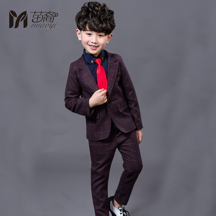 2017 New Children Suit Baby Boys Suits Kids Blazer Boys Formal Suit For Wedding Boys Clothes Blazer+Pants 2pcs 3-12Y 2017 new children suit baby boys suits kids blazer boys formal suit for wedding boys clothes blazer pants 2pcs 3 12y