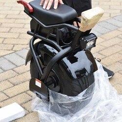 Scooter de motocicleta eléctrico de monociclo inteligente de una rueda para adultos 60V 1000W con asiento S3