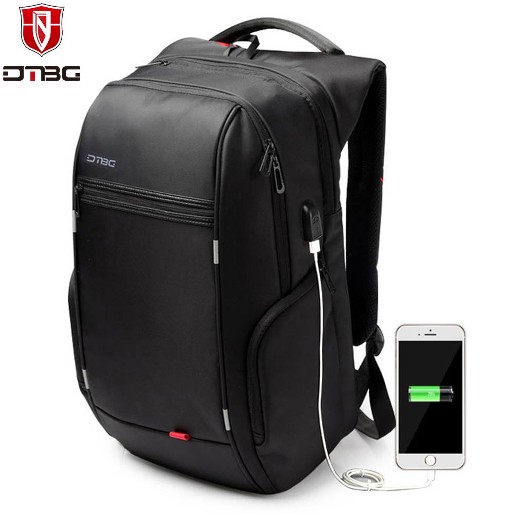 DTBG Laptop Backpack Brand 15.6 17 17.3 Inch Computer Bag for Men Women Anti-theft Backpacks Waterproof Travel School Bags Kids kingsons brand waterproof men women laptop backpack 15 6 inch notebook computer bag korean style school backpacks for boys girl