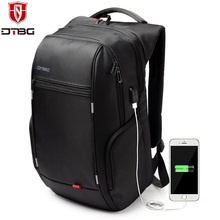 DTBG Laptop Backpack Brand 15.6 17 17.3 Inch Computer Bag for Men Women Anti-theft Backpacks Waterproof Travel School Bags Kids