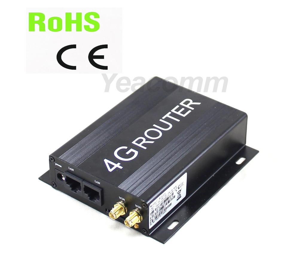 R220 Serie 4G LTE Auto WIFI router con slot per sim card e SMA antenna esterna