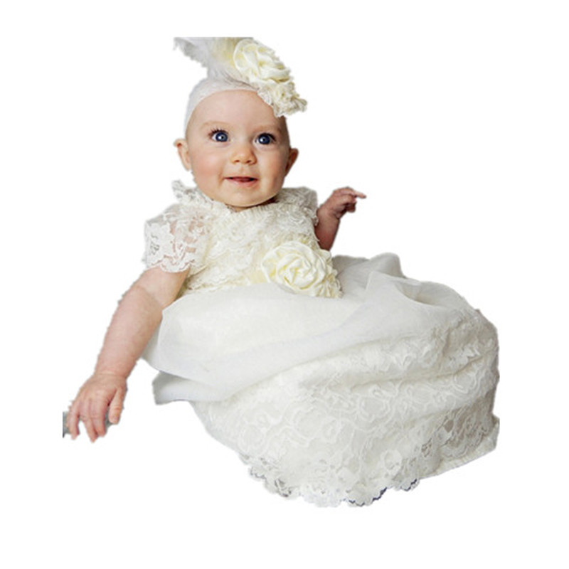 BBWOWLIN Baby Girl Dress Super Long Christening Baptism Gowns Sequined Formal Dress for 0-2T Girl's First Communion Dress 80252 bbwowlin newborn baby girl christening gowns dress for 0 2t baby girls baptism first communion dress flower girl dresses 80250