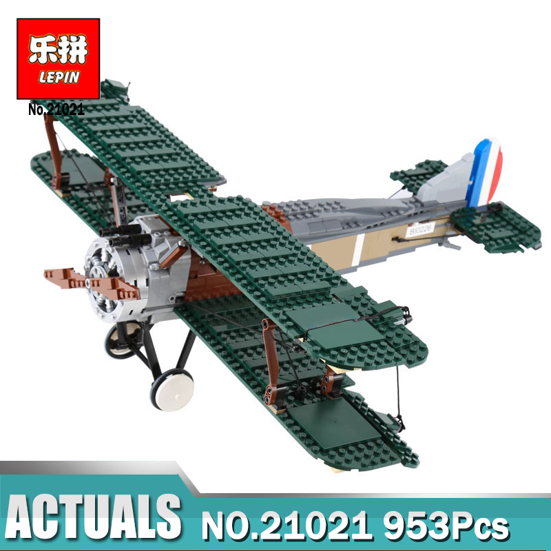 21021 Creator Sopwith Camel Fighter Block Set Plane Model Compatible with legoingly 10026 Kids Toy 953Pcs купить