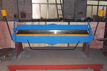 2540 2 0mm hand brake sheet metal brakes bending machine pan and box folding machinery tools