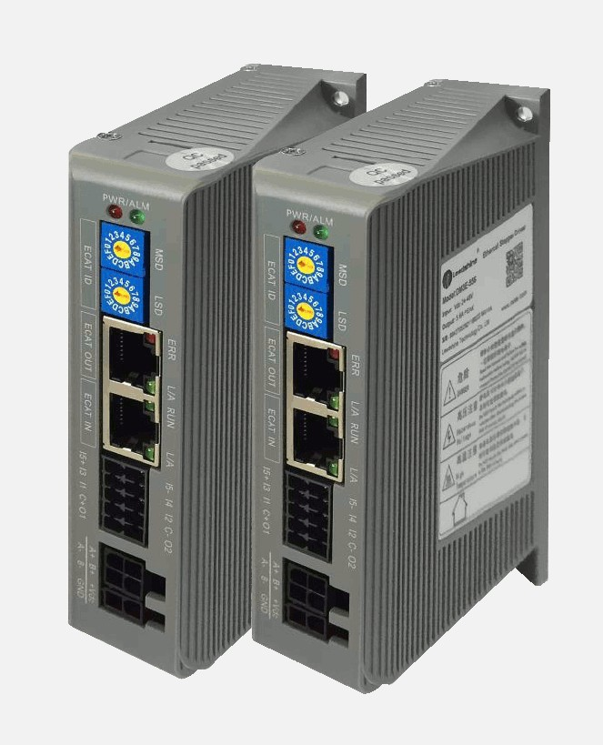 Leadshine network Drives DM3E-556 Series EtherCAT Stepper Drives with CoE and CiA 402 protocols control Stepper Motor NEMA23/24 magnetic bearings and bearingless drives
