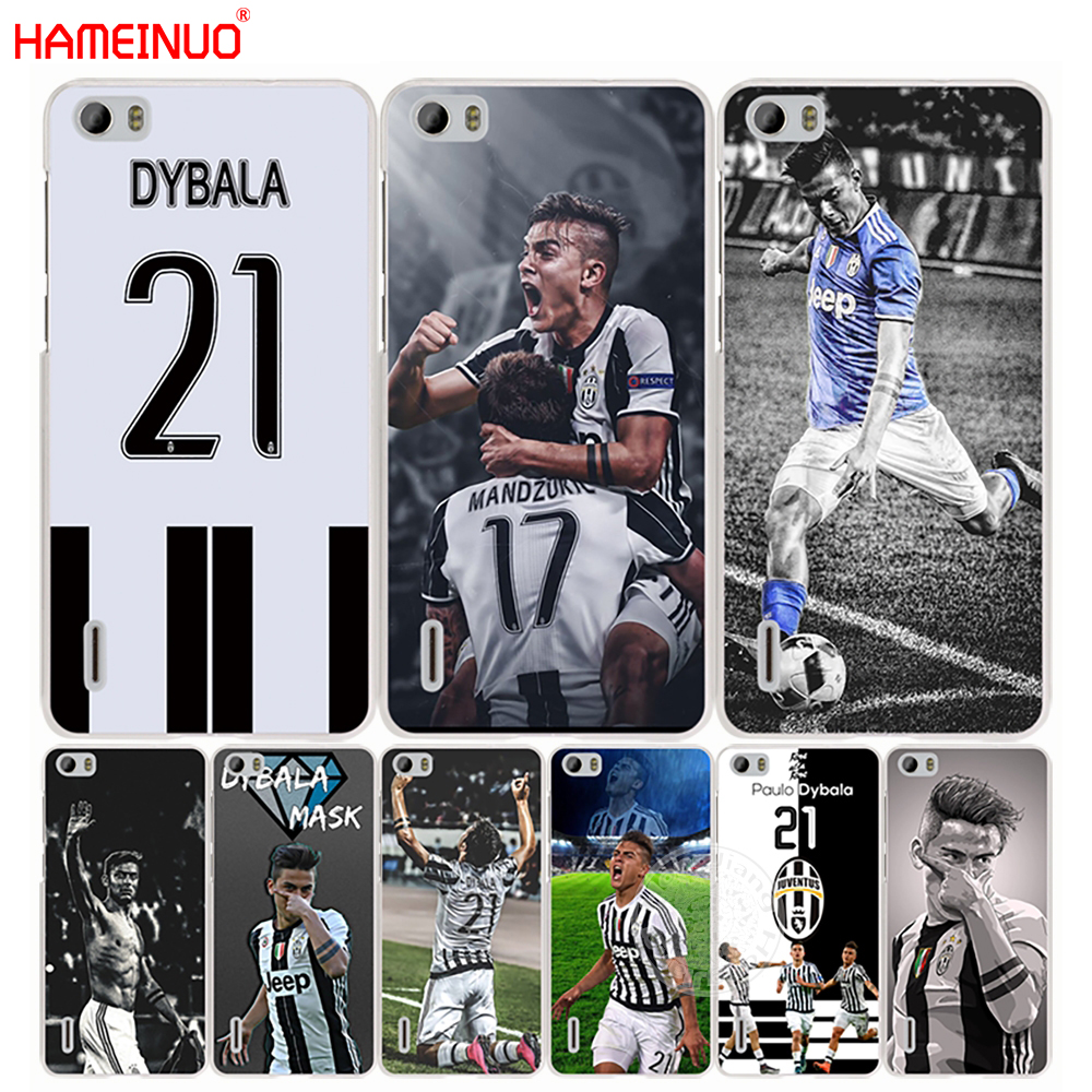 HAMEINUO Italy famous soccer 21 Paulo DYBALA phone Cover Case for huawei honor 3C 4A 4X 4C 5X 6 7 8 Y3 Y5 Y6 2 II Y560 Y7 2017