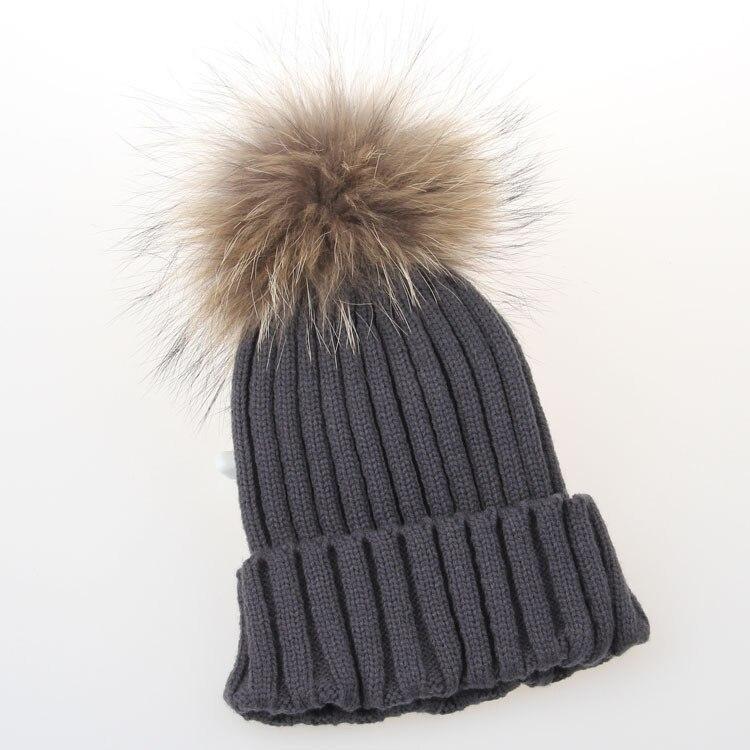b0d902627 Retail Women Stylish Winter knitting Hats bobble hat Removable ...