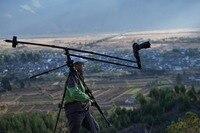 特別価格!ポータブルdvミニjibクレーンdslrビデオカメラジブ210センチ長い用デジタル