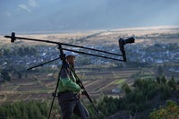Special Price! Portable DV Mini Jib Crane DSLR Video camera Jib 210cm long for DSLR camera 5D2 5D3 GH2 D800